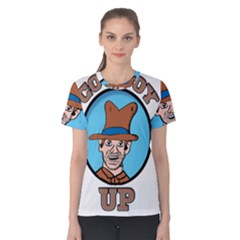 Cowboy Up Women s Cotton Tee