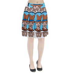Cowboy Up Pleated Skirt