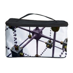 Grid Construction Structure Metal Cosmetic Storage Case
