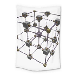 Grid Construction Structure Metal Small Tapestry