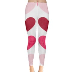 Valentine S Day Hearts Leggings