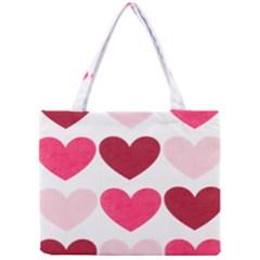 Valentine S Day Hearts Mini Tote Bag