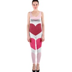 Valentine S Day Hearts OnePiece Catsuit