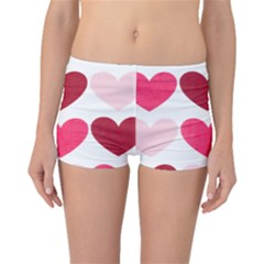 Valentine S Day Hearts Boyleg Bikini Bottoms