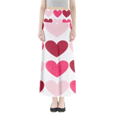 Valentine S Day Hearts Maxi Skirts