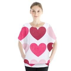 Valentine S Day Hearts Blouse