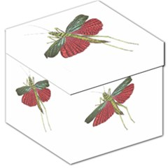 Grasshopper Insect Animal Isolated Storage Stool 12