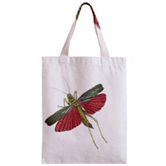 Grasshopper Insect Animal Isolated Zipper Classic Tote Bag