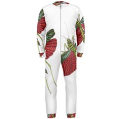 Grasshopper Insect Animal Isolated OnePiece Jumpsuit (Men)