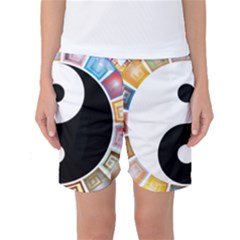Yin Yang Eastern Asian Philosophy Women s Basketball Shorts