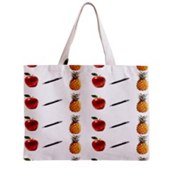 Ppap Pen Pineapple Apple Pen Zipper Mini Tote Bag