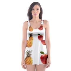 Ppap Pen Pineapple Apple Pen Skater Dress Swimsuit