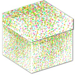 Confetti Celebration Party Colorful Storage Stool 12
