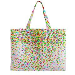 Confetti Celebration Party Colorful Zipper Mini Tote Bag