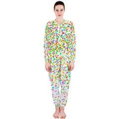 Confetti Celebration Party Colorful OnePiece Jumpsuit (Ladies)