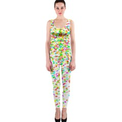 Confetti Celebration Party Colorful OnePiece Catsuit