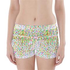 Confetti Celebration Party Colorful Boyleg Bikini Wrap Bottoms
