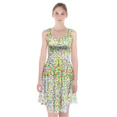 Confetti Celebration Party Colorful Racerback Midi Dress