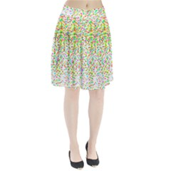 Confetti Celebration Party Colorful Pleated Skirt