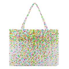 Confetti Celebration Party Colorful Medium Tote Bag