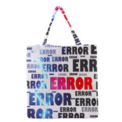 Error Crash Problem Failure Grocery Tote Bag