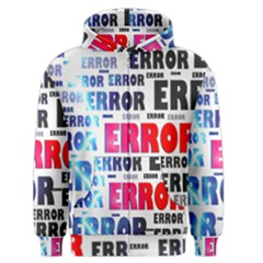 Error Crash Problem Failure Men s Zipper Hoodie