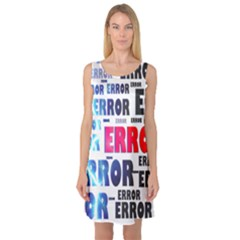 Error Crash Problem Failure Sleeveless Satin Nightdress