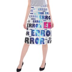 Error Crash Problem Failure Midi Beach Skirt