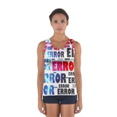 Error Crash Problem Failure Women s Sport Tank Top