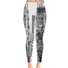 York Cathedral Vector Clipart Leggings