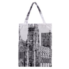York Cathedral Vector Clipart Classic Tote Bag