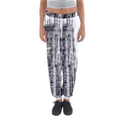 York Cathedral Vector Clipart Women s Jogger Sweatpants