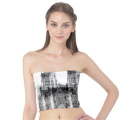 York Cathedral Vector Clipart Tube Top