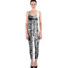 York Cathedral Vector Clipart Onepiece Catsuit