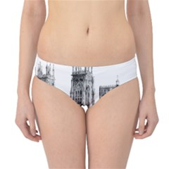 York Cathedral Vector Clipart Hipster Bikini Bottoms