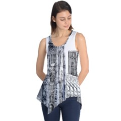 York Cathedral Vector Clipart Sleeveless Tunic