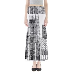 York Cathedral Vector Clipart Maxi Skirts