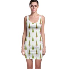 Christmas Tree Sleeveless Bodycon Dress