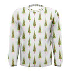 Christmas Tree Men s Long Sleeve Tee