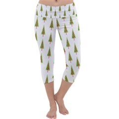 Christmas Tree Capri Yoga Leggings