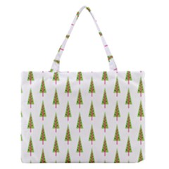 Christmas Tree Medium Zipper Tote Bag