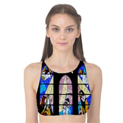 Art Church Window Tank Bikini Top