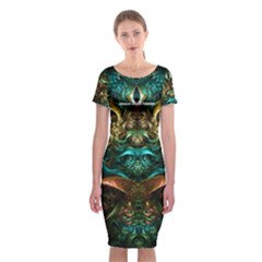 TRE5560007000 Classic Short Sleeve Midi Dress