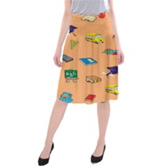 School Rocks! Midi Beach Skirt