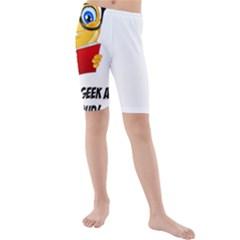 Geek Kid Kids  Mid Length Swim Shorts