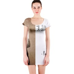 A Child is Miseducated... Short Sleeve Bodycon Dress