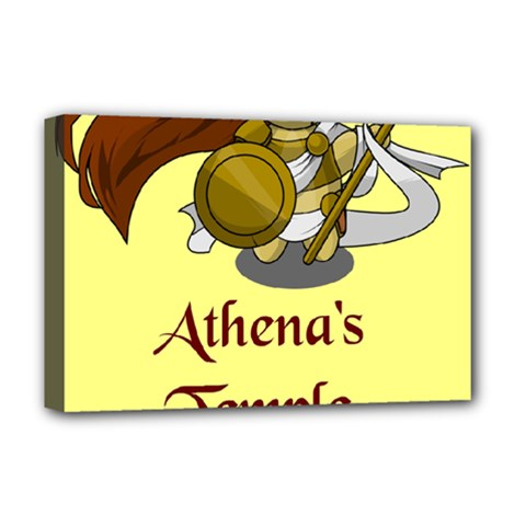 Athena s Temple Deluxe Canvas 18  x 12