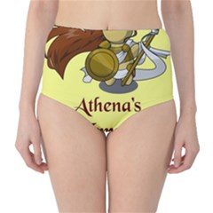 Athena s Temple High-Waist Bikini Bottoms