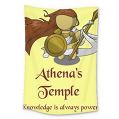 Athena s Temple Large Tapestry