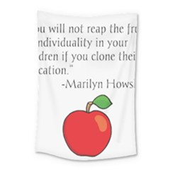 Fruit Of Education Small Tapestry